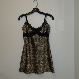 Victoria's Secret Leopard Print Slip. Size Medium.
